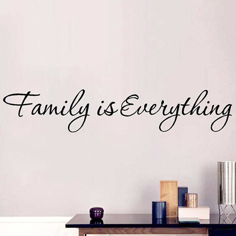 Diy Removable Vinyl Decal Art Mural Home Decor Wall Stickers Family
