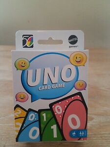 《NEW》Mattel UNO 2010s 10s Retro Version Family Card Game #5 of 5 in Series
