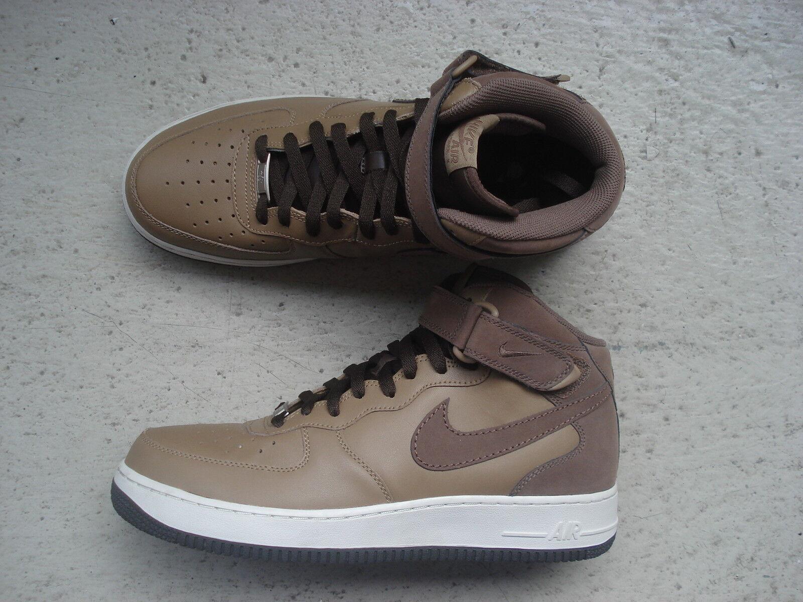 Nike Air Force 1 Mid '07 45 Wlnt/Mdm Brwn-Lght Bn-Brq Brwn