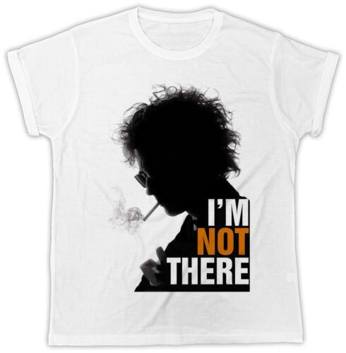 Cool Bob Dylan je ne suis pas là Movie Poster Fashion Homme Unisexe T-Shirt Cadeau Idéal