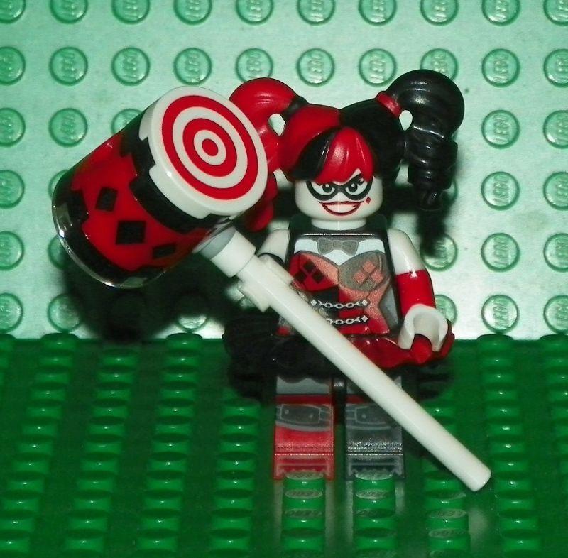 LEGO 70916 - The Batman Movie - Harley Quinn w/ Hammer - Minifig / Mini Figure