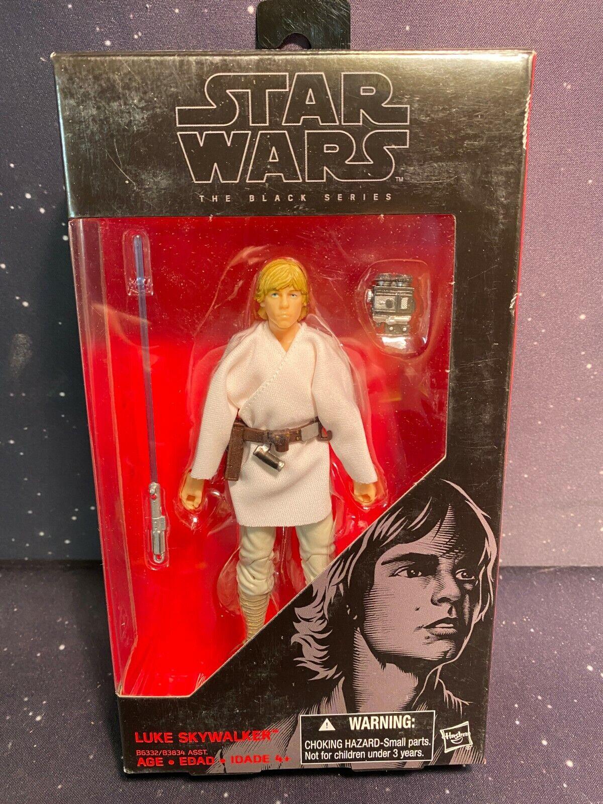 "Luke Skywalker Star Wars A New Hope The Black Series #21 6/"" NIB"