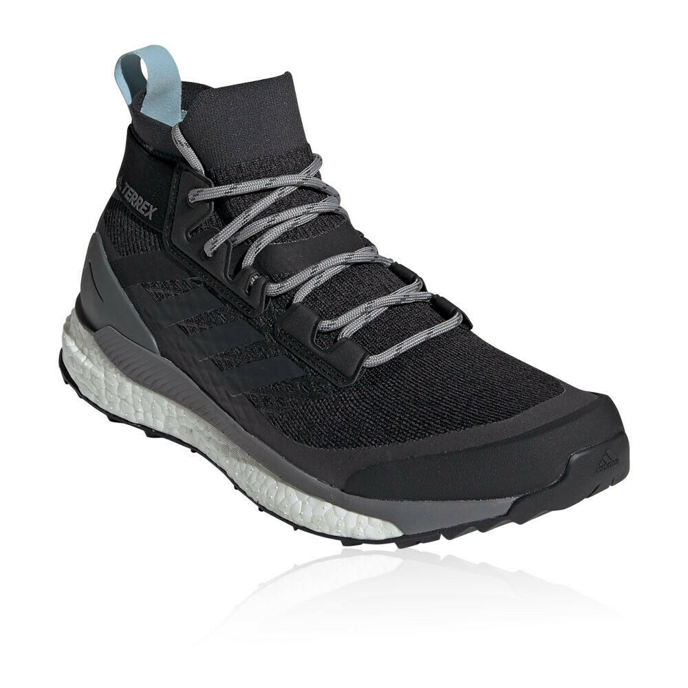 Adidas Damen Terrex Free Hiker Walking Trekking Outdoor Schuhe Laufschuh Schwarz
