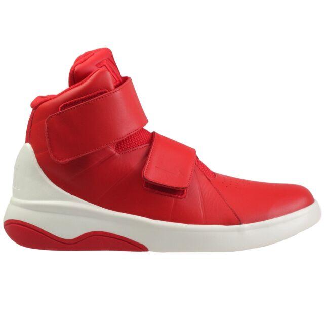 5949e7d93dac Nike Marxman Mens 832764-600 University Red Sail Strap Shoes Sneakers Size 9