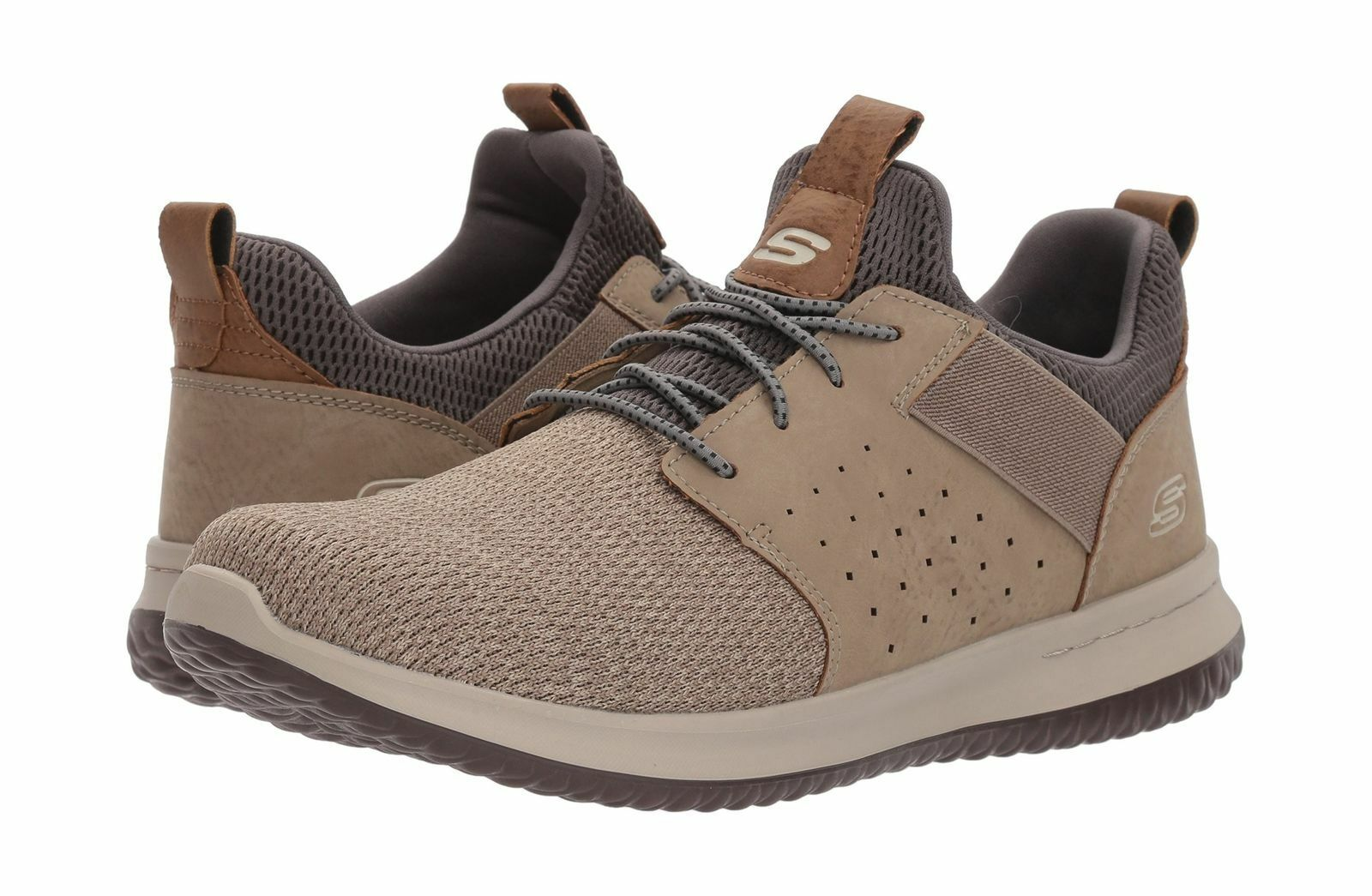 Skechers Delson-camben Men's Taupe Classic sz 9.5