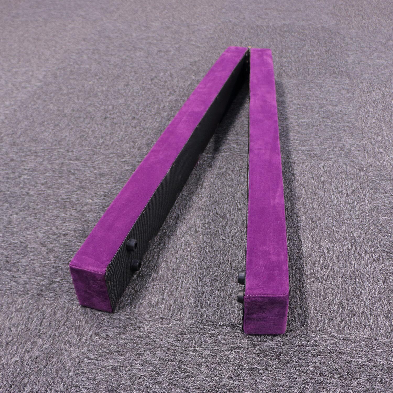 Purple Sectional Folding Balance Beam Floor Athletics