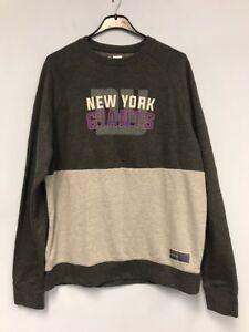 dbdc7347f56 NFL Team Apparel New York Giants Men s Crew Neck Sweatshirt Sz Large ...