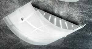 Lampada soffitto plafoniera piccola vetro cucina salone camera bagno