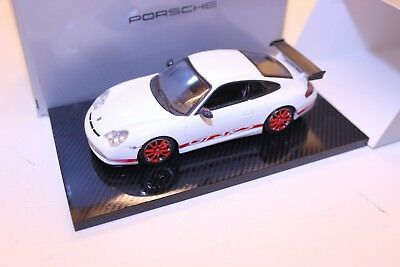Minichamps Porsche 911 Gt3 Rs Dealer Edition White Red Wap 02011114 Ebay