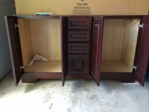 Image Is Loading Bathroom Vanity Cabinet And Double Sink Top 60
