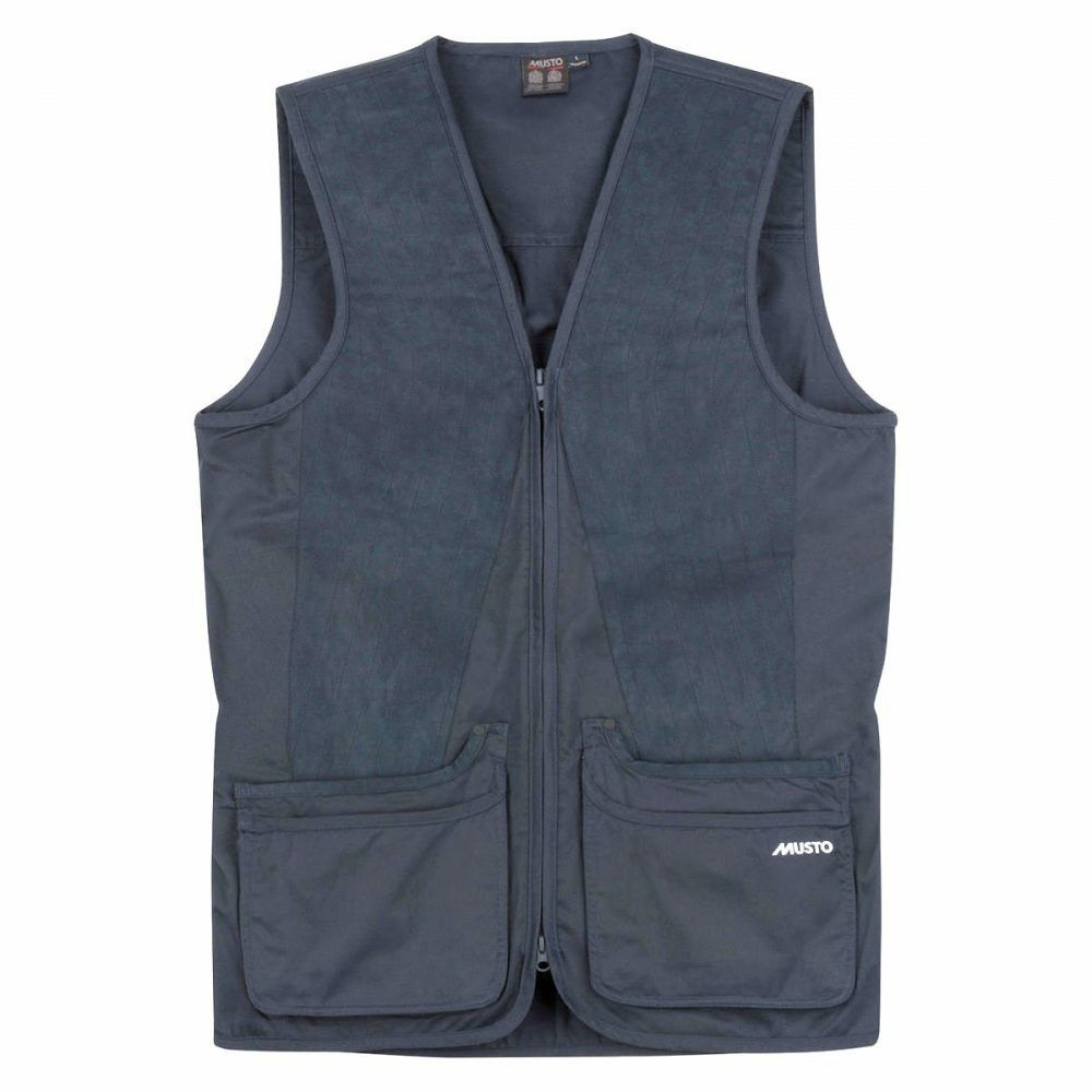 Musto Clay Shooting Vest  True Navy  fantastic quality