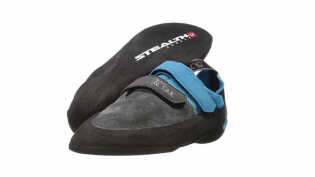 Five Ten Rogue VCS Neon bluee Charcoal Climbing shoes Size US 12