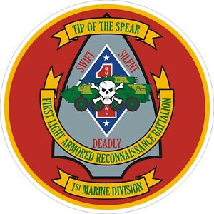 USMC-Marine-Corps-1st-Light-Armored-Recon-Regiment-Decal-Sticker