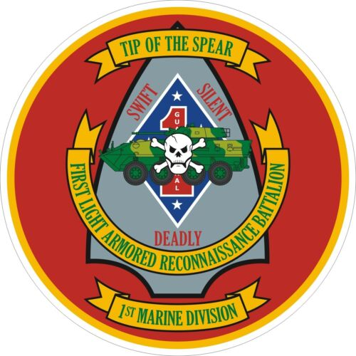 USMC Marine Corps 1st Light Armored Recon Regiment Decal Sticker