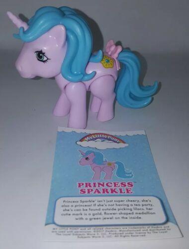 My Little Pony Wave 1 The Loyal Subjects G1 PRINCESS SPARKLE Vinyl Action Figure