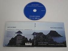 FISHLAND CANYON/OUT OF PRINT(NABEL 4680) CD ALBUM DIGIPAK