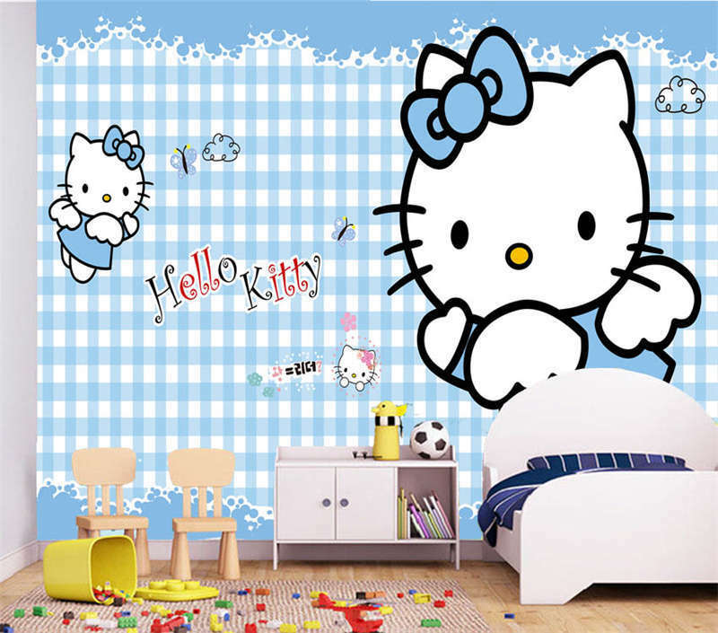 Noble Big Kitty 3D Full Wall Mural Photo Wallpaper Printing Home Kids Decoration