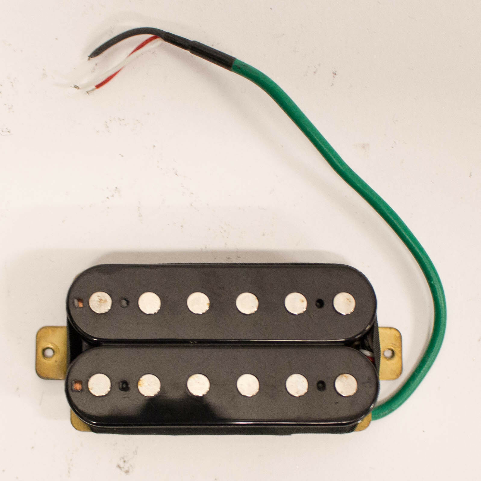 Early 90s Dimarzio Style Humbucker Neck Pickup for Electric Guitar - schwarz
