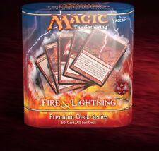 MTG Magic the Gathering Premium Deck Series: Fire and Lightning Foil Box set