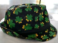 cbad390e326 item 7 Spencer s Fedora hat shamrocks size s m St Patrick s day lucky cap  Green Clover -Spencer s Fedora hat shamrocks size s m St Patrick s day  lucky cap ...
