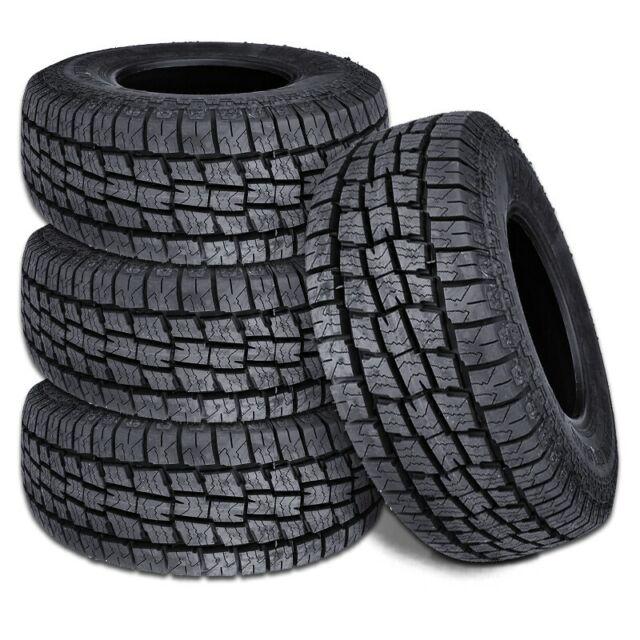 4 Lionhart LIONCLAW ATX2 LT245/75R16 120/116S 10P M+S AS All Terrain Truck Tires