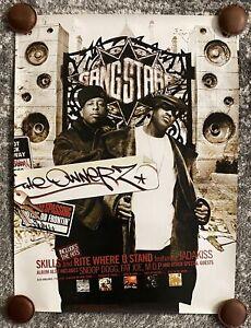 Gangstarr-The-Ownerz-Poster-Vintage-New