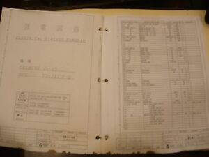 Electrical Circuit Diagram Manual Mori Seiki ZL1525 eBay