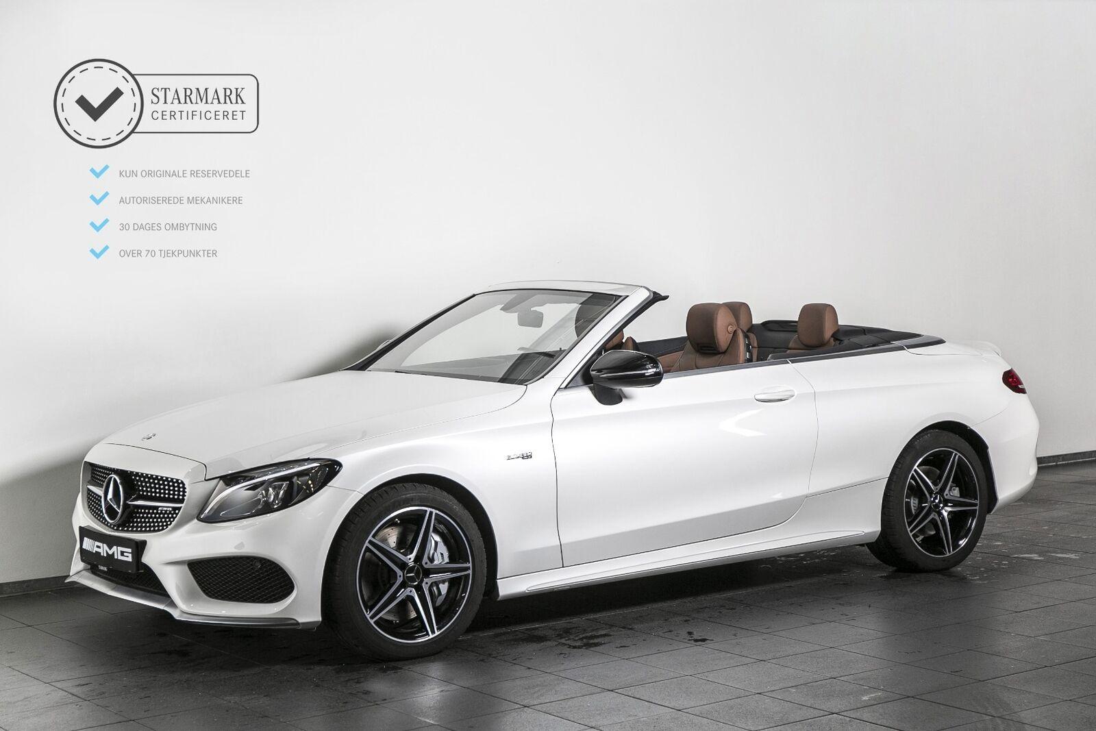 Mercedes-Benz C43 3,0 AMG Cabriolet aut. 4-M