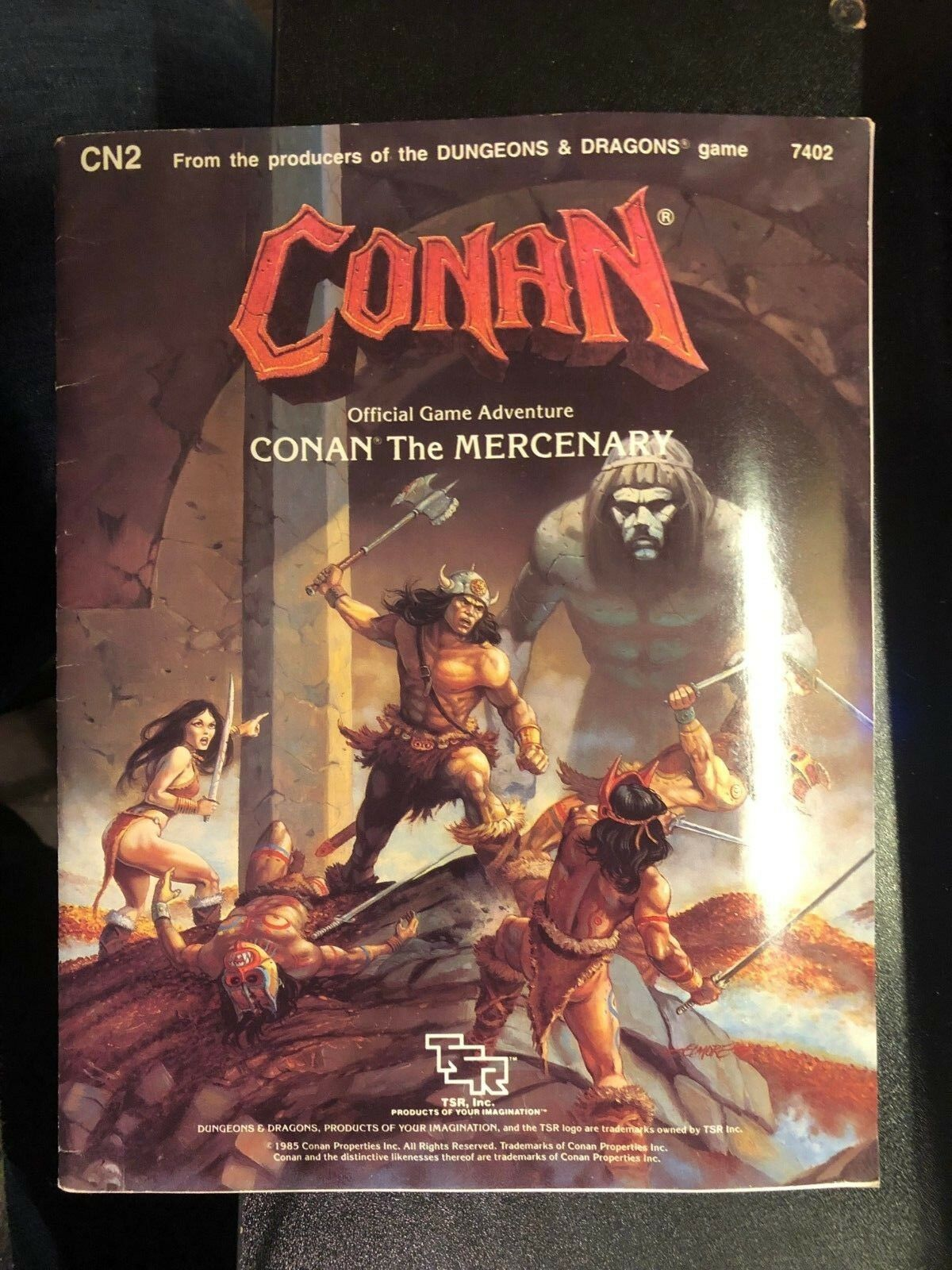 Conan the Mercenary: Module Cn2  Conan Game Adventure  Official Game Adventure