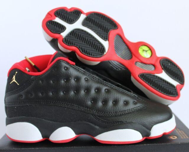 d018ccd5ebce 2015 Nike Air Jordan 13 XIII Retro Low BG Black 310811-027 Youth ...