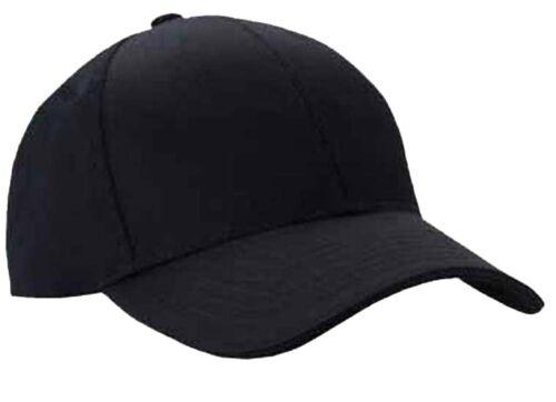 Mens Classic Plain Adjustable Baseball Caps by MIG - Work Casual Sports  Leisure Black 92050eba2cd2