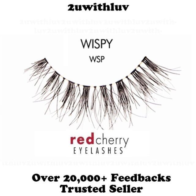 6b23ffb9344 Red Cherry - Wispy WSP - False Eyelashes for sale online | eBay