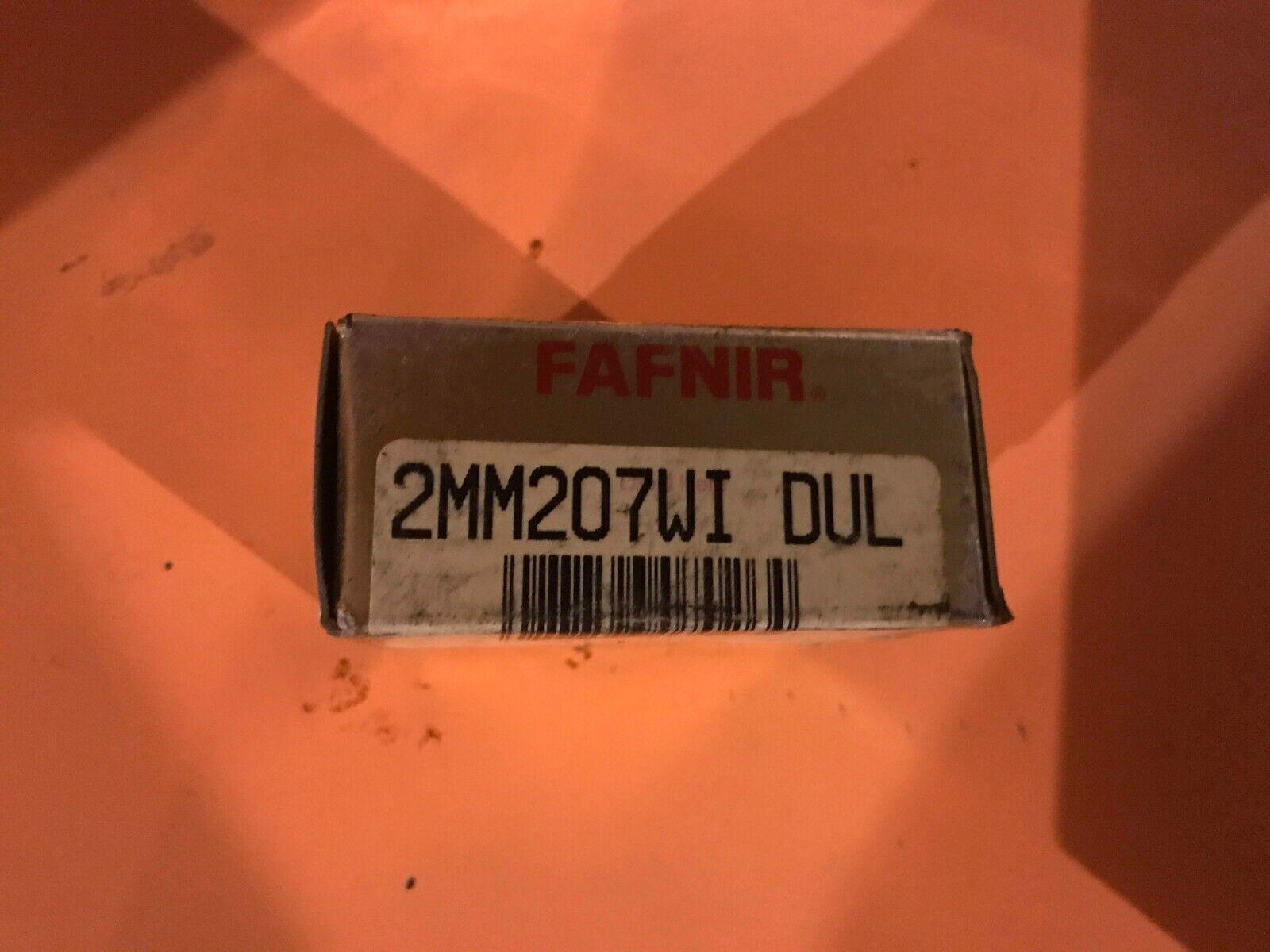 NEW FAFNIR 2MM207WI DUL SUPER PRECISION BEARING SET 2MM207WIDUL