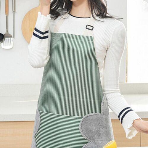 Erasable Hand Waterproof Kitchen oil-proof Apron Waist Restaurant Aprons US SALE