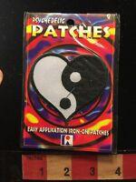 Weird Patch - Love Heart Shaped Yin & Yang Patch 66wn