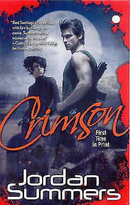 Crimson, Jordan Summers, Very Good Book