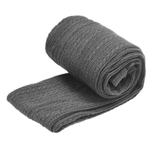 Damen Warm Winter Thermo Leggings Stretch Innenfleece Leggins Strickhose Skinny