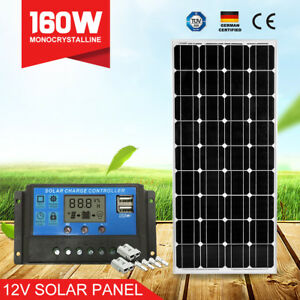 160W-Solar-Panel-Kit-Mono-Cells-160Watt-amp-20A-PWM-Regulator-amp-Anderson-Plugs