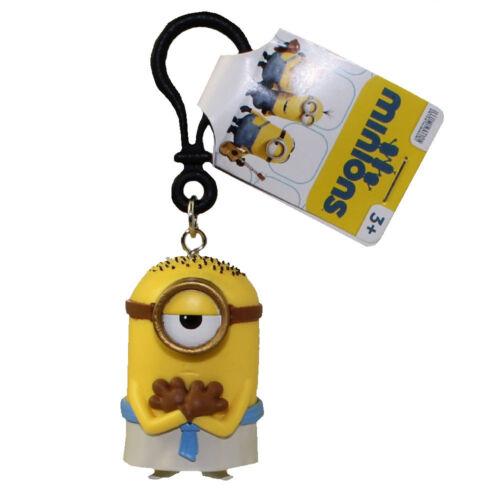- New Minions Movie 2 inch EGYPTIAN STUART PVC Figurine Backpack Clip