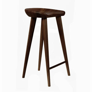Remarkable Details About New Carved Wood Barstool 30 Contemporary Bar Counter Tractor Stool Set Of 2 W Creativecarmelina Interior Chair Design Creativecarmelinacom