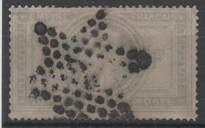 FRANCE-STAMP-TIMBRE-33-034-NAPOLEON-III-5F-VIOLET-GRIS-034-OBLITERE-A-VOIR-M684