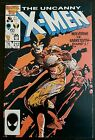 X-MEN #212 (1986 MARVEL) *WOLVERINE VS. SABRETOOTH ROUND 1* VF