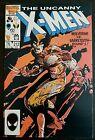 X-MEN #212 (1986 MARVEL) *WOLVERINE VS. SABRETOOTH ROUND 1* VF