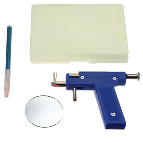 Professional Piercing Gun Steel Ear Nose Navel Body Piercing Body JewelryToWTUS