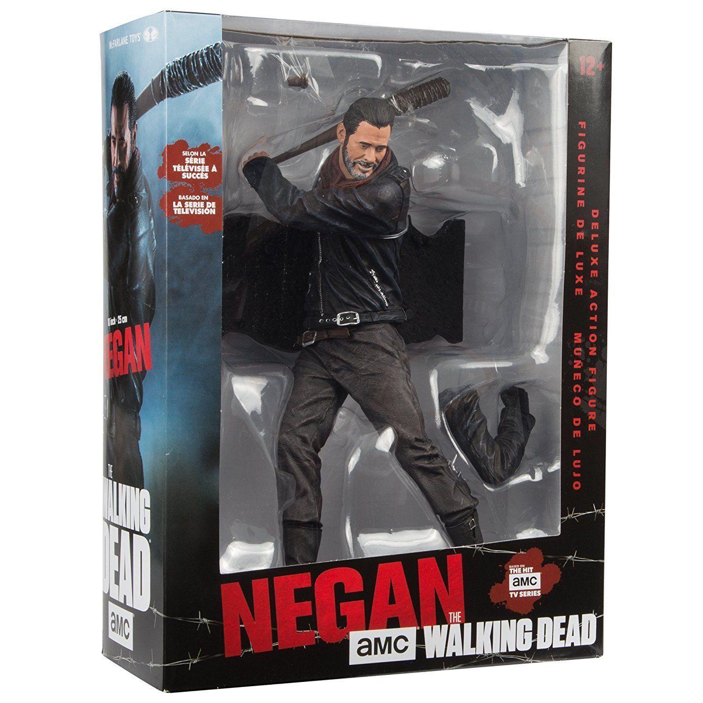 McFarlane The Walking Dead-Negan con Lucille - 25cm Personaggio Deluxe-Nuovo/Scatola Originale