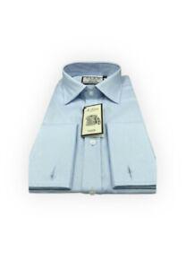 Pink Thomas Pink Men's 17 43cm Slim Fit Dress Shirt Royal Oxford Blue Checkered