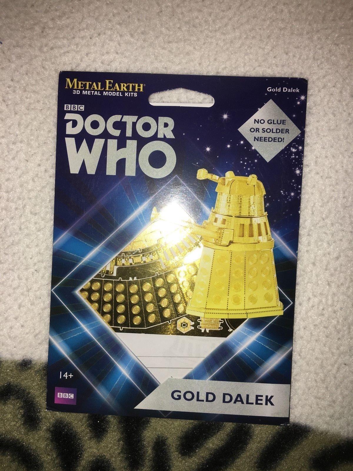 Doctor Who Dalek METALLO TERRA kit modello