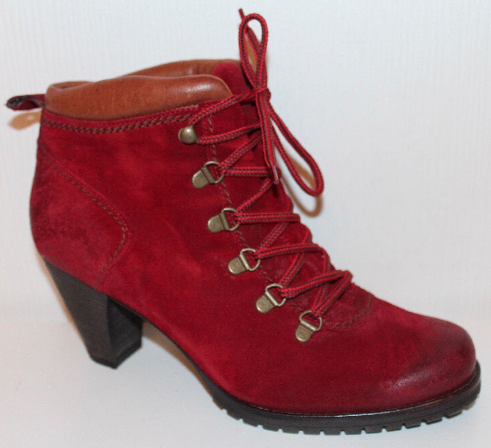 Paul verde schnürzapatos Lace up up up botines zapatos 40 cuero botas botines  más vendido