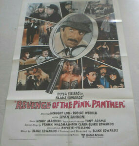 Filmplakat,REVENGE OF THR PINK PANTHER,PETER SELLERS,BLAKE EDWARDS#26