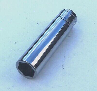 "NEW Snap-on deep long reach 9mm x 1//4/"" drive 6 pt socket tool STMM9 VAT Inc"